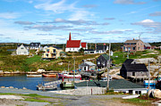 Peggys Cove Print by Ron Haist