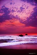 Pelican State Beach California 02 Print by Rafael Escalios