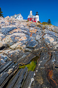 Nubble Lighthouse Posters - Pemaquid Lighthouse 3 Poster by Emmanuel Panagiotakis