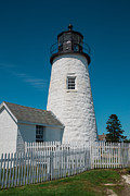 Pemaquid Lighthouse Posters - Pemaquid Lighthouse Poster by Norm Rodrigue