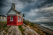 Pemaquid Point Framed Prints - Pemaquid Point Framed Print by Fred LeBlanc