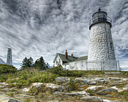 Lee Fortier - Pemaquid Point Lighthouse