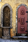 Old Door Photos - Pena Palace Door by John Rizzuto