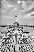 Steve Purnell - Penarth Pier 3 Black and White