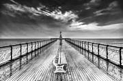 Steve Purnell - Penarth Pier 4 Black and White