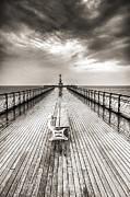 Steve Purnell - Penarth Pier 6 Black and White