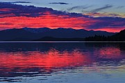 Sandpoint Photos - Pend Oreille Sunset by Benjamin Yeager