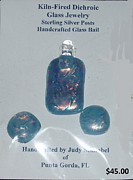 Featured Jewelry - Pendant and earrings by Judy Schnabel