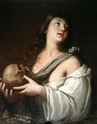 Religious Art Digital Art - Penitent Mary Magdalene by Guido Reni