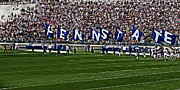 Pennsylvania State University Prints - Penn State Flags Print by Gallery Three
