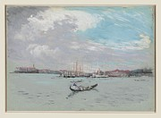 Reprint Art - Pennel Joseph Outside Venice Reprint by J Nance