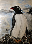 Marie Bulger - Pennie the Posing Penguin