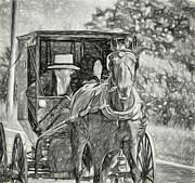 Steve Harrington - Pennsylvania Amish 2 -  BW