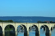 Structure Originals - Pennsylvania Arched Bridge by Rhonda Humphreys