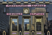 Phila Framed Prints - Pennsylvania Railroad Suburban Station Framed Print by Susan Candelario