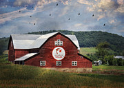 Barn Digital Art - Pennsylvania Wilds by Lori Deiter