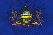Pennsylvania Art - Pennsylvania by World Art Prints And Designs
