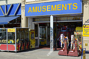 Amusements Prints - Penny Arcade Print by Doug Wilton
