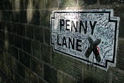 Beatles Art - Penny Lane by Jonah  Anderson