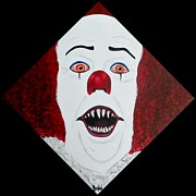 Pennywise Print by JoNeL  Art