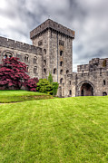 Clouds Digital Art - Penrhyn Castle by Adrian Evans