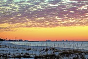 Pensacola Beach Prints - Pensacola Bay Print by JC Findley