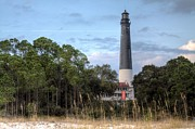 Florida Panhandle Prints - Pensacola Lighthouse Print by JC Findley