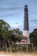 Oats Prints - Pensacola Lighthouse V Print by JC Findley