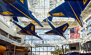 Gary Warnimont Metal Prints - Pensacola Naval Aviation Museum Metal Print by Gary Warnimont