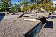 Dc-9 Framed Prints - Pentagon Memorial Framed Print by Lawrence Burry