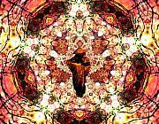 Pentagrammathanatos Severe Beauty Print by Aeres Vistaas