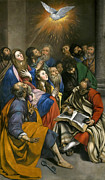 Famous Artists - Pentecost by Juan Bautista Maino