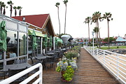Greens Framed Prints - Peohes Restaurant In Coronado California 5D24355 Framed Print by Wingsdomain Art and Photography