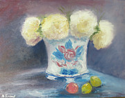 Barbara Anna Knauf - Peonies in China Vase