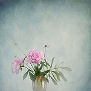 Peonies Still Life Print by Artskratches