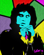 Jim Morrison Prints - People Are Strange Print by Glenn Cotler