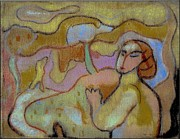 Nudes Pastels - People In The Field by Danail Tsonev