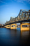 Murray Prints - Peoria Illinois Bridge - Murray Baker Bridge Print by Paul Velgos