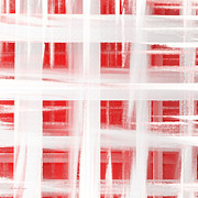 Andee Photography - Peppermint Plaid 2 Abstract