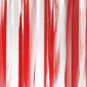 Home Design Abstract Collection - Peppermint Stick Abstract by Andee Photography