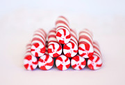 Sweetness Prints - Peppermint Twist - Candy Canes Print by Kim Hojnacki