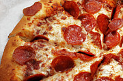Junk Photos - Pepperoni Pizza 2 - Pizzeria - Pizza Shoppe by Andee Photography