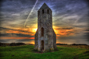 Catherines Prints - Pepperpot Sunset Print by Nigel Hamer