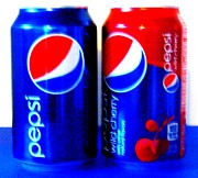 Pepsi Can Prints - Pepsi Pop Art 6 Print by Margaret Newcomb