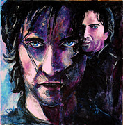Portrait Painting Originals - Perdition by Francoise Dugourd-Caput