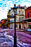 Louisiana Digital Art Framed Prints - Pere Antoine Alley - New Orleans Framed Print by Bill Cannon