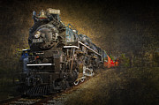 Randall Nyhof - Pere Marquette Railroad Steam Engine