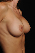 Enticing Prints - Perfect Breasts Print by Jt PhotoDesign