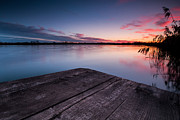 Lake Sunset Photos - Perfect place by Davorin Mance