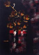 Perfume Of Night Flowers Print by Catalina Lira
